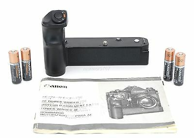 CANON AE POWER WINDER FN for the NEW CANON F-1! EXCELLENT PLUS! 90-DAY WARRANTY!