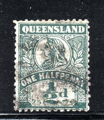 Queensland #124 used