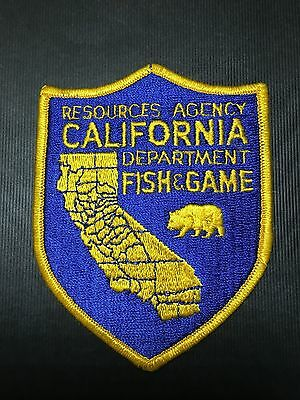 California Dept Of Fish & Game Resources Agency  Shoulder Patch
