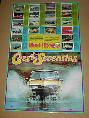Vintage Weetbix 1976 Cars Of The Seventies Ford Xle Valiant 770 Mazda Holden Hj