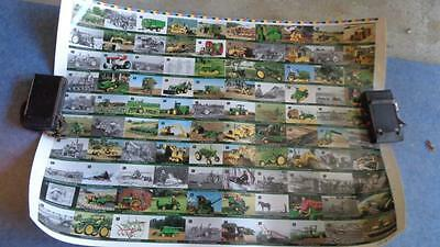 John Deere Uncut Sheet Numbered 330/2000 Cards  from 1 to 100