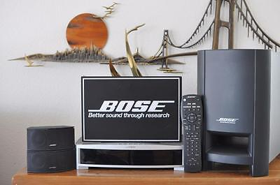 Bose 3-2-1 321 GS Series II FULL Home Entertainment DVD Theater Media HD System