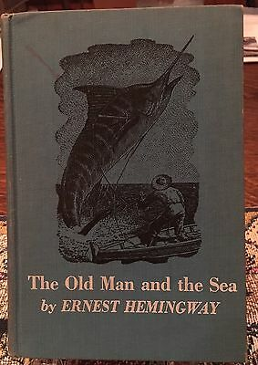 The Old Man and the Sea, by Ernest Hemingway, Hardcover, 1952