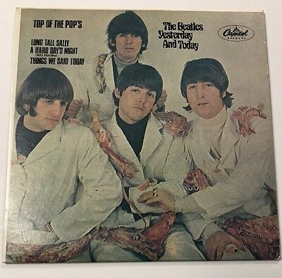 "Beatles Top Of The Pops Butcher Cover Yesterday & Today Promo 7"" Ep Free S/h"
