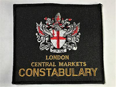 London Central Markets Constabulary Patch - City of London - England - UK