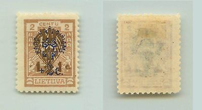 Lithuania, 1926, SC B16, mint, wmk 147. rta4393