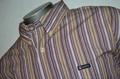 2626-c Mens Chaps Ralph Lauren Dress Shirt Size 2XL Striped New With Tags