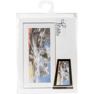 "Sky Study IX On Aida Counted Cross Stitch Kit 5.75""X13.75"" 18 Cou 499994661777"