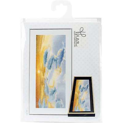 "Sky Study IV On Aida Counted Cross Stitch Kit 5.75""X13.75"" 18 Cou 499994661722"