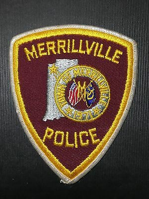 Merrillville  Indiana  Police   Shoulder  Patch