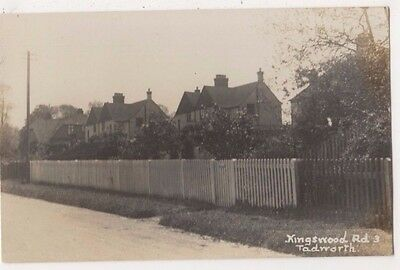 Kingswood Road Tadworth, Surrey RP Postcard B746