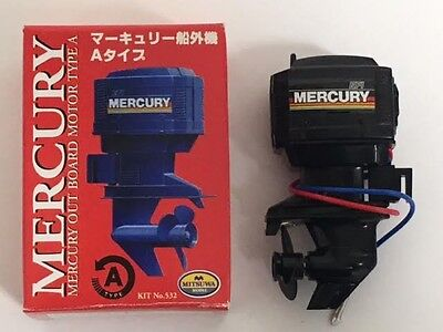 MITSUWA Mercury Outboard motor TypeA Right Handed NOS Made in Japan Rare