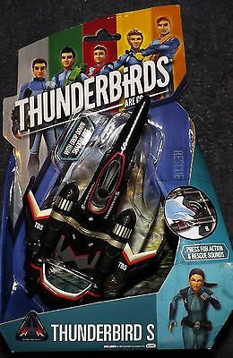 "Thunderbirds Are Go Tv Action Figure 6"" Thunderbird S  With  Sounds Great Offer"