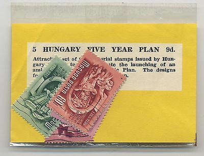 Hungary  '' Un-Opened Small Pack Of Pictorial Stamps - Set '' Fine Used