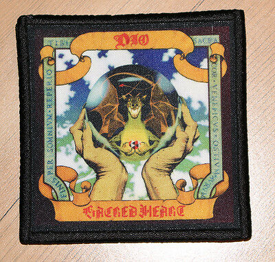 """DIO """"SACRED HEART"""" silk screen PATCH"""