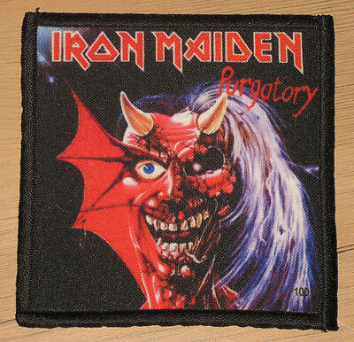 "IRON MAIDEN ""PURGATORY"" silk screen PATCH"