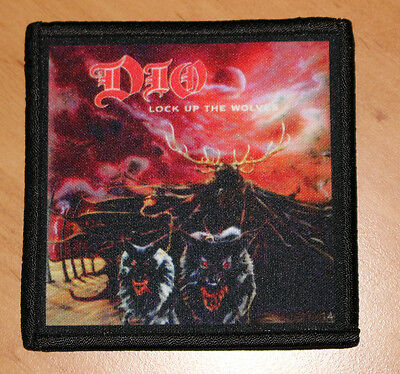 """DIO """"LOCK UP THE WOLVES"""" silk screen PATCH"""