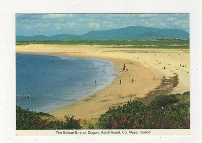 The Golden Strand Dugort Achill Island Co Mayo Ireland 1982 Postcard 876a