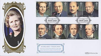 Gb Stamps First Day Cover 2014 Margaret Thatcher Grantham Benham Royal Mail