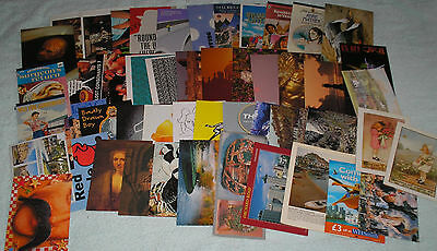 Job Lot 50 Assorted Postcards~Mixed Sizes And Subjects