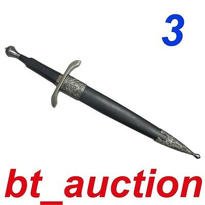 New Fantasy Medieval Crusader Knight Steel Sword (A3)7