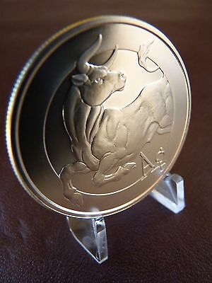 2014 Bull Silver Shield Collection 1 oz .999 Silver American Bullion Coin SBSS