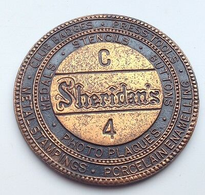 Sheridans Advertising Token 36mm