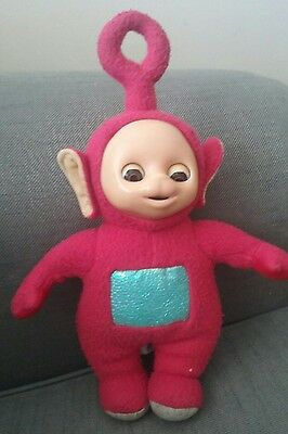 Original Vintage Po teletubbies doll soft toy closing eyes