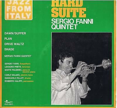 SERGIO FANNI QUINTET hard suite LP Carosello CLE 21017 jazz from Italy original