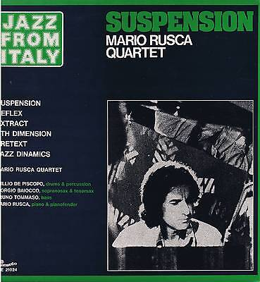 MARIO RUSCA QUARTET suspension LP Carosello CLE 21024 jazz from Italy original