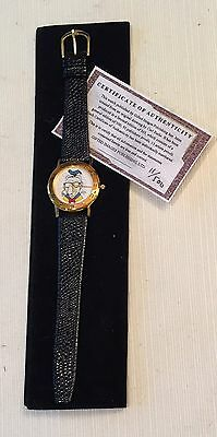 CARL BARKS SELF PORTRAIT Donald Duck LIMITED EDITION WATCH 11/500 MIP