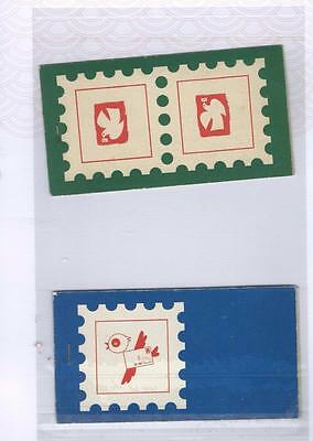 Poland Lot 1 Booklets (2 items) as per scans [664]