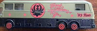 Hank Williams, Jr.  Eagle Coach 1993 Tour Bus Replica