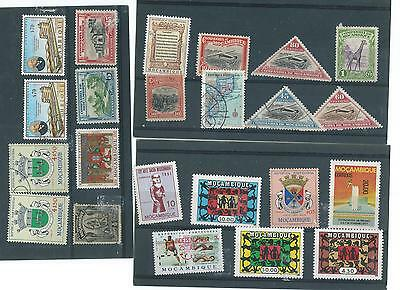 Mozambique  M/m & Usedstamp Collection
