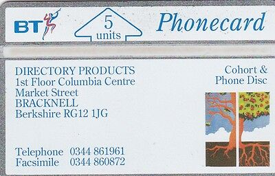 BT Phonecard BTI033A Directory Products, new