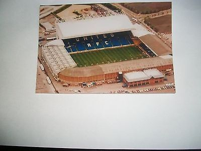 "LEEDS UNITED ELLAND ROAD  AERIAL VIEW Modern (A)  6""x4"" REPRINT POST FREE"