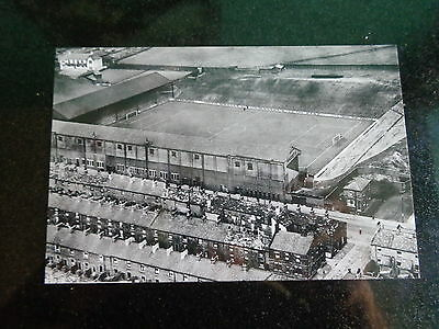 "BURNLEY FOOTBALL GROUND  AERIAL VIEW  1950s  ???    6""x4"" Reprint"