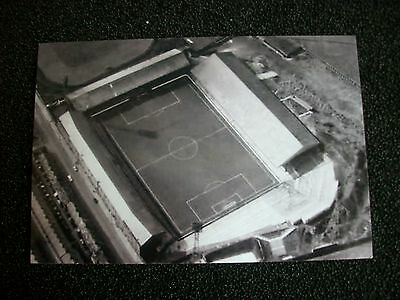"BURNLEY GROUND TURF MOOR AERIAL VIEW      1960s ?    6""x4""  REPRINT"