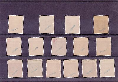 Lot 15 Timbres Libération  N°1/15 Neuf ** Luxe Gomme Signe Complet