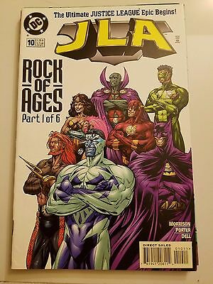 "Jla #10-15 (1998) Dc Comics Justice League Of America Full ""rock Of Ages"" Series"