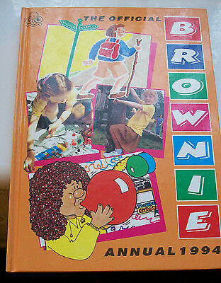 The Official Brownie Annual - 1994 - Girl Guide Collectors Item - VGC