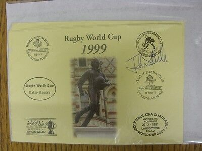 1999 Rugby World Cup Postcard: Hand Signed By Steele, John [World Cup 'Relay Lau