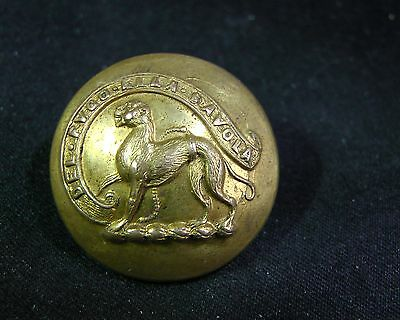 Johannes Berners of Tharfeld Chained 17th C. Ape Gilt 25mm Livery Button Firmin
