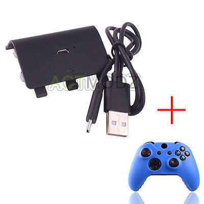 Rechargeable Battery Pack and USB Charger Cord for Xbox One Controller