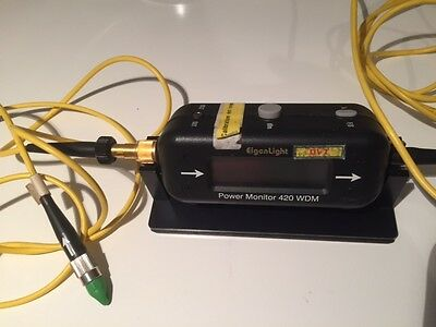 EigenLight 420 WDM Fiber Optic Power Monitor