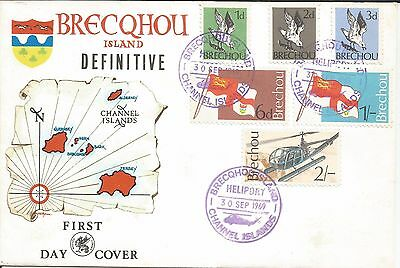 Arcade Special A Super Brecqhou/Lihou Channel Is FDC 1969