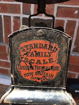 Antique Turnbull's Family 12 Pound Scale Landers Frary & Clark