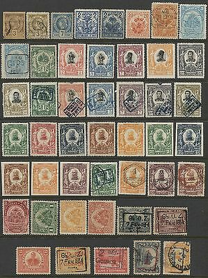 P996 -  HAITI  Collection of Early Mint and Used stamps