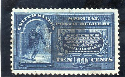 USA - Special Delivery - E4 - 10c Blue - Used - CV $45
