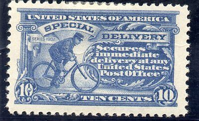 USA - Special Delivery - E11 - 10c Ultramarine - Hinged Mint - CV $20